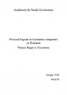 Procesul bugetar în Germania comparativ cu România - Pagina 1