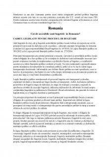 Procesul bugetar în Germania comparativ cu România - Pagina 2