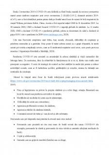 Tulburările de tip anxios în timpul pandemiei de COVID-19 - Pagina 2