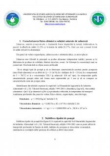 Determinarea caracteristicilor pompelor - Soluție saturată de zaharoză - Pagina 3