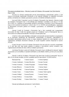 Recrutarea personalului într-o instituție publică - Direcția Locală de Evidență a Persoanelor Iași - Serviciul de Stare Civilă - Pagina 3