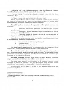 Recrutarea personalului într-o instituție publică - Direcția Locală de Evidență a Persoanelor Iași - Serviciul de Stare Civilă - Pagina 4