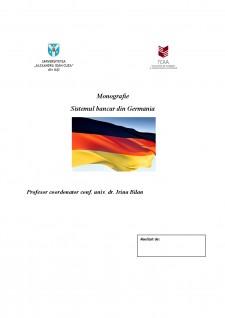Sistemul bancar din Germania - Pagina 1