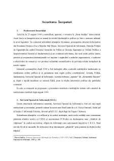 Securitatea - Pagina 1