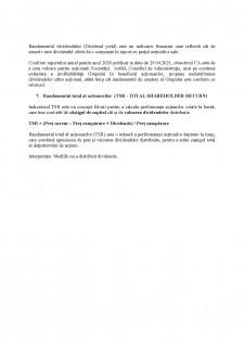 Analiza și evaluarea acțiunii MedLife SA - Pagina 4