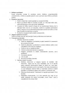Studierea pieței mărcii Milka - Pagina 2