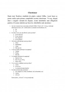 Studierea pieței mărcii Milka - Pagina 4