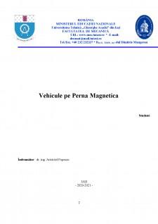Vehicule pe pernă magnetică - Pagina 1
