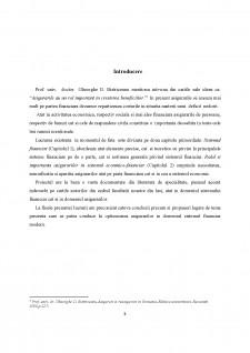 Rolul asigurărilor în sistemul economico-financiar modern - Pagina 3