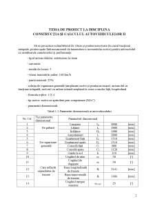 Construcția și calculul autovehiculelor II - Pagina 2