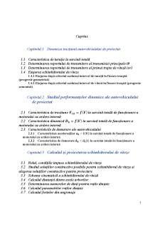 Construcția și calculul autovehiculelor II - Pagina 5