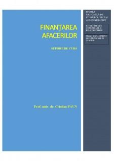 Finanțarea Afacerilor - Pagina 1