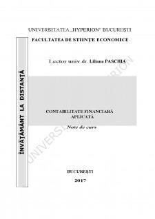 Contabilitate financiară aplicată - Pagina 1