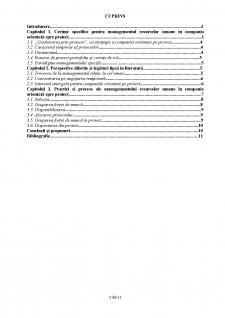 Managementul resurselor umane în cadrul organizației orientată spre proiect - Pagina 2