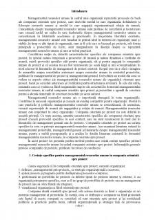 Managementul resurselor umane în cadrul organizației orientată spre proiect - Pagina 3