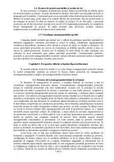 Managementul resurselor umane în cadrul organizației orientată spre proiect - Pagina 5