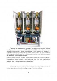 Contactor tripolar cu comutație în vid - Pagina 2