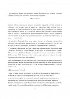 Relațiile de influență - Persuasiune și manipulare - Pagina 5