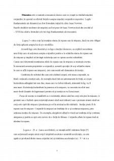 Aspecte generale ale dinamicii și cinematicii - Pagina 3
