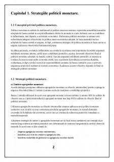 Strategii politice monetare a Băncii Naționale a Moldovei - Pagina 4