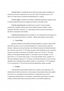 Tulburarea de personalitate borderline - Pagina 3