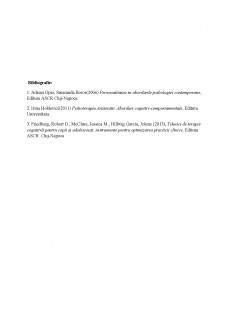 Paradigmă social-cognitivă și paradigmă behavioristă aplicate pe un caz - Pagina 5