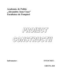 Proiect Casa de Locuit - Pagina 1