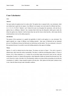 Cone Calorimeter - Pagina 1