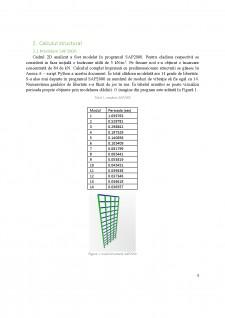 Analiză asupra influenței unei mase asupra modului propriu de vibrație ale unei structuri din cadre de beton armat - Pagina 4
