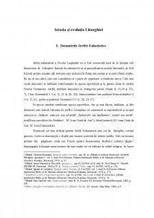 Istoria și evoluția Liturghiei - Pagina 1