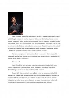 Creierul, Povestea Noatra de David Eagleman - Pagina 2