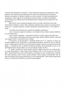Conceptul de sine - Pagina 2