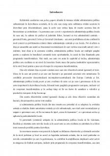 Analiza administrației publice locale important actor al cooperării transfrontaliere - Studiu de caz Bihor - Pagina 2