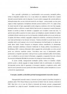 Analiza comparativă a managementului resurselor umane din administrația statelor membre ale Uniunii Europene - Pagina 2