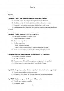 Organizarea și optimizarea producției la SC Doly-Com SRL cu obiect de activitate producerea cărnii de bovine - Pagina 2