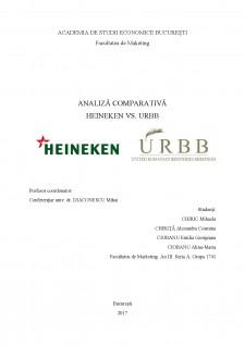 Analiză comparativă Heineken vs URBB - Pagina 1