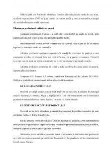 Extinderea și diversificarea gamei de produse comestice pentru compania farmec Farmerc - Pagina 5
