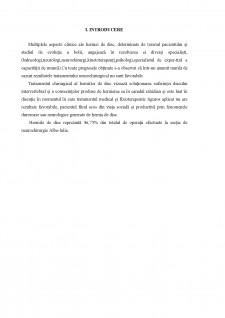 Aspecte de nursing în recuperarea pacienților cu hernii de disc operate - Pagina 4