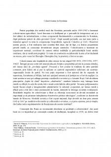 Colectivizarea în România - Pagina 1