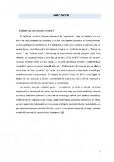 Studiu privind percepția generală și impactul efectiv asupra calității vieții persoanelor care au suferit un accident vascular cerebral - Pagina 4