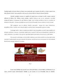 Analiza legăturii dintre nivelul de educație și cererea pentru serviciile medicale - Pagina 3