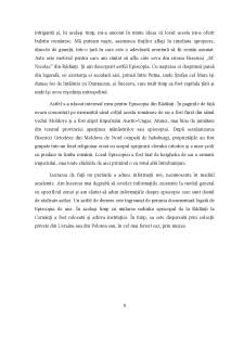 Aspecte din istoria unei instituții bisericești din Moldova - Episcopia de Rădăuți în secolele XV-XVIII - Pagina 5