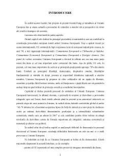 Evoluția și istoricul Uniunii Europene - Pagina 2