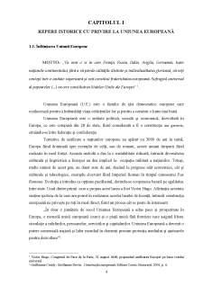 Evoluția și istoricul Uniunii Europene - Pagina 4
