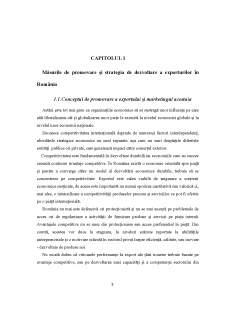 Măsuri de promovare a exporturilor românești - Pagina 5