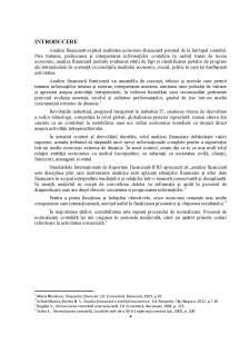 Analiza structurii situatiilor financiare potrivit reglementarilor contabile românești - Pagina 3