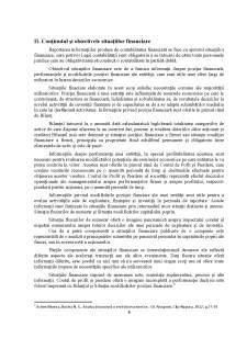 Analiza structurii situatiilor financiare potrivit reglementarilor contabile românești - Pagina 5