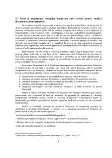 Metode de previziune a situațiilor financiare - studiu de caz la SC Energetica Electrica SA - Pagina 5