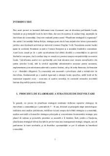 Strategia de dezvoltare a comunei Bogdan Vodă - Județul Maramureș - Pagina 5