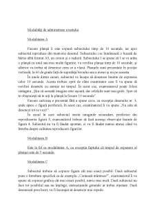 Testul Benton - Pagina 2